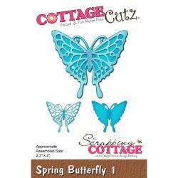 "303311 CottageCutz Elites Die Spring Butterfly 1, 2.3""X2"""