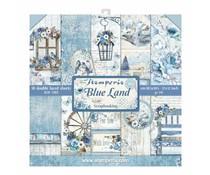 SBBL47 Stamperia Paperpack Blue Land