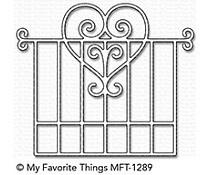 MFT-1289 My Favorite Things Garden Gate Die-Namics