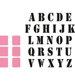 COL1396 Collectable Stempel alfabet