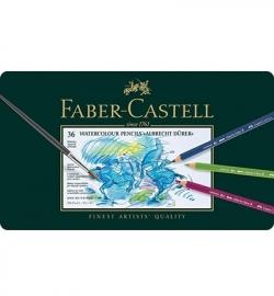 117536 Faber Castell Albrecht Dürer set FC Aquarel Metalen etui a 36st.