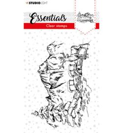 SL-ES-STAMP91 - SL Clear stamp Christmas Senery Essentials nr.91