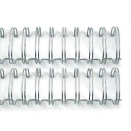 Wire Binder 1 inch Silver