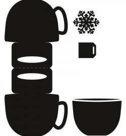 CR1376 Craftables Bag topper - Mug