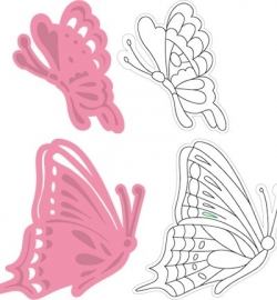 COL1319 Marianne Design Collectable Tiny´s butterfly 3