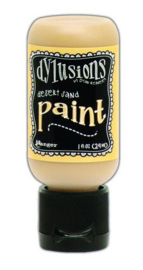 306610/0696 Ranger Dylusions Paint Flip Cap Bottle Vanilla Custard 29ml