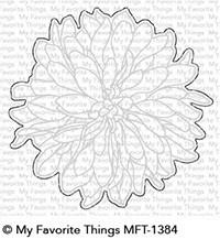 MFT-1384 My Favorite Things Beautiful Bloom Die-Namics