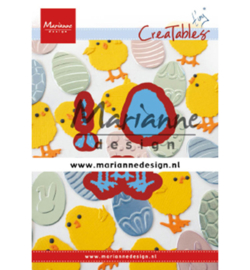 LR0644 Marianne Design Cutting & embossing Tiny's Easter chick