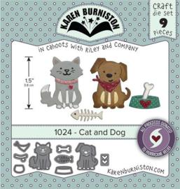 KBR1024 Karen Burniston Dies Cat & Dog