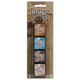 TDPK 40361 Distress Mini Ink Kit 6