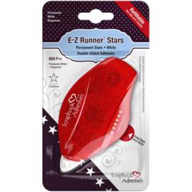 653248 Scrapbook Adhesives E-Z Runner Dispenser Permanent, Stars, 650/Pcs