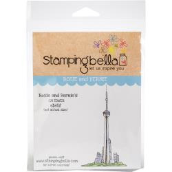 456612 Stamping Bella Cling Stamps Rosie & Bernie's CN Tower