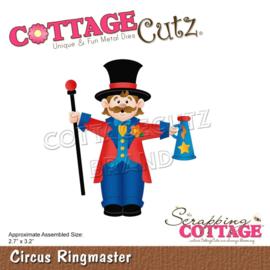 """CC856 CottageCutz Dies Circus Ringmaster 2.7""""X3.2"""""""