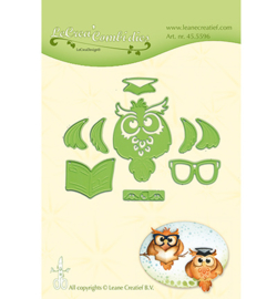 455596 Lea'bilitie Cutting/Emb. Owl / Graduation