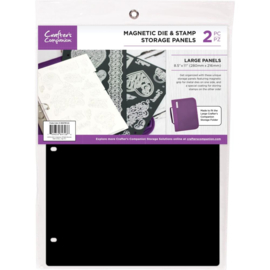 "555015Crafter's Companion 8.5""X11"" Magnetic Storage Panels 2/Pkg"