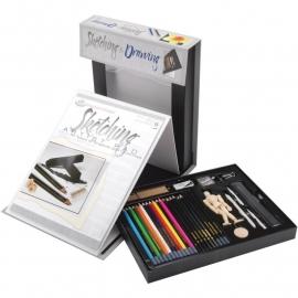422799 Studio Artist Set Sketching & Drawing