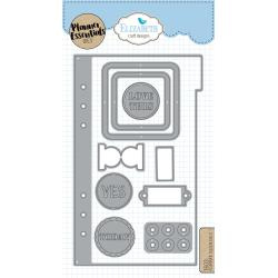 EC1603 Elizabeth Craft Metal Die Planner Essentials 1