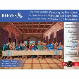 """171228 Paint By Number Kit Artist's Collection Last Supper 12""""X16"""""""
