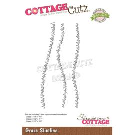 """CCB078 CottageCutz Slimline Dies Grass 9.4"""" To .8"""""""