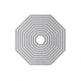 1522E Tonic Studios Essentials basics layering dies octagon