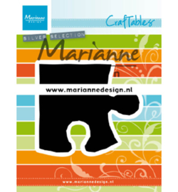 CR1491 Marianne Design craftables Puzzle piece