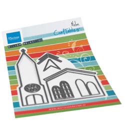 CR1520 Marianne Design Craftable Church by Marleen