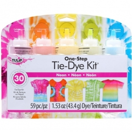 134299 Tulip One-Step Large Tie Dye Kit Neon