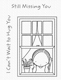 PI-316 My Favorite Things Missing You Clear Stamps
