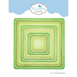 EC1702 Elizabeth Craft Metal Die Stitched Rounded Square