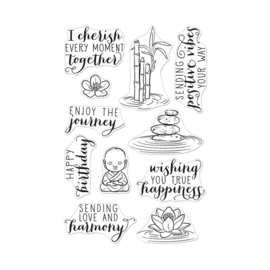 """627043 Hero Arts Clear Stamps Tranquility 4""""X6"""""""