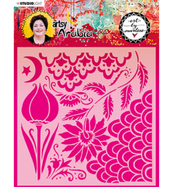 MASKBM13 Art By Marlene Mask Artsy Arabia, nr.13