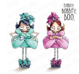 EB971 Stamping Bella Cling Stamps Oddball Stepsisters