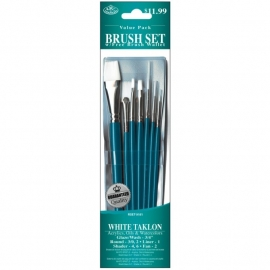325171 Brush Set Value Pack White Taklon