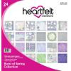 """557953 Heartfelt Creations Double-Sided Paper Pad  Burst Of Spring 12""""X12"""""""