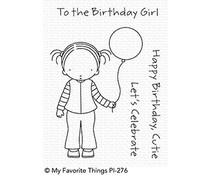 PI-276 My Favorite Things Pure Innocence Birthday Cutie Clear Stamps