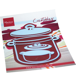LR0705 Marianne Design creatables Cooking pots