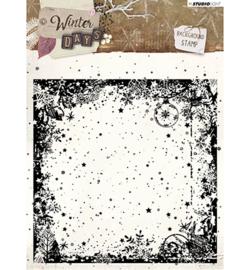 STAMPWD314 Stamp Background Winter Days nr. 314