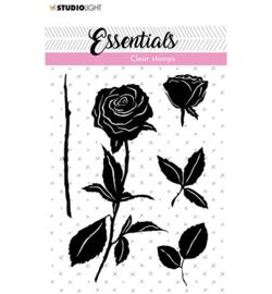 SL-ES-STAMP28 StudioLight Clear Stamp Roses Essentials nr.28