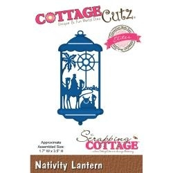 "439953 CottageCutz Elites Die Nativity Lantern, 1.7""X3.5"""
