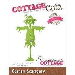 """510761 CottageCutz Elites Die Garden Scarecrow 2.2""""X3.5"""""""