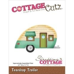 120039 CottageCutz Elites Die In The Woods Teardrop Trailer