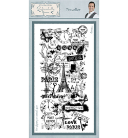 SYR008 Creative Expressions Rubber Stamp Traveller