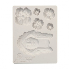 966607 Prima Marketing Mould flower queen 3,5x4,5""