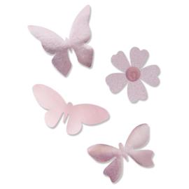 665350 Sizzix Bigz Plus Die By Olivia Rose Fantastical Butterflies
