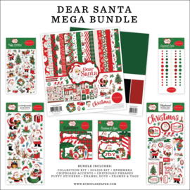 "635023 Carta Bella Mega Bundle Collection Kit Dear Santa 12""X12"""