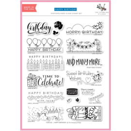 "625763 Stamping Village Clear Stamps 6""X8"""