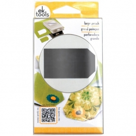 """54-30167 Slim Paper Punch Large Tag 2.5"""""""