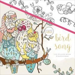 275663 KaiserColour Perfect Bound Coloring Book Bird Song