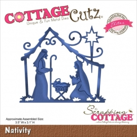 118625 CottageCutz Elites Die Nativity