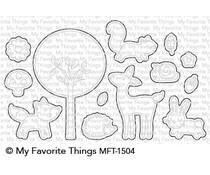 MFT-1504 My Favorite Things Sweet Spring Friends Die-Namics